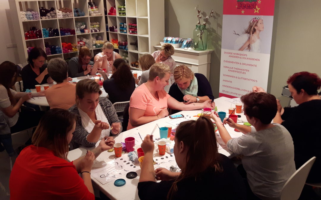 Workshops kinderschminken